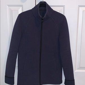 Navy lululemon coat size 6